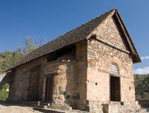Igreja de Asinou imagens de stock royalty free