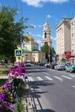 Igreja de ?athedral da natividade em Lipetsk Fotos de Stock Royalty Free