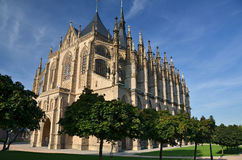 Igreja de Barbara de Saint Imagens de Stock Royalty Free