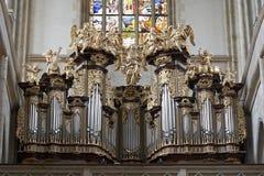 Igreja de Barbara de Saint - Kutna Hora Fotos de Stock Royalty Free