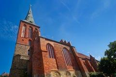 Igreja de Berlin Nikolaikirche em Alemanha Fotos de Stock Royalty Free
