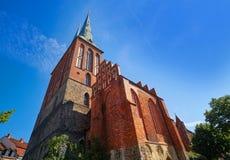 Igreja de Berlin Nikolaikirche em Alemanha Fotos de Stock