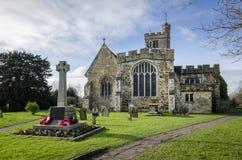 Igreja de Biddenden fotografia de stock royalty free