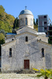 Igreja de blocos da pedra calcária Foto de Stock Royalty Free