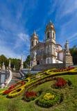 Igreja de Bom Jesus em Braga - Portugal fotografia de stock royalty free