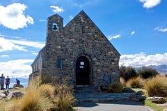 Igreja de bom Shepard em Tekapo NZ Fotografia de Stock