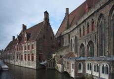 Igreja de Bruges Foto de Stock Royalty Free