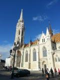 Igreja de Budapest Fotos de Stock Royalty Free