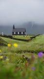 Igreja de Budir na névoa Imagens de Stock Royalty Free