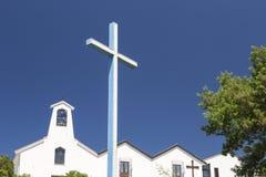 Igreja de Buoncamino na cidade de Iglesias, Itália Fotos de Stock Royalty Free