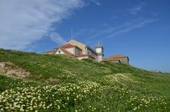 Igreja de Cabo Espichel, Portugal Imagem de Stock