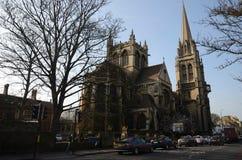 Igreja de Cambridge na cidade de Cambridge!! Fotos de Stock Royalty Free