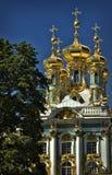 Igreja de Catherine Palace Foto de Stock Royalty Free