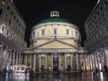 Igreja de Charles Borromeo de Saint, Milão, Itália Imagens de Stock
