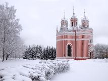 Igreja de Chesme em St Petersburg Fotos de Stock