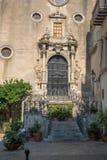 Igreja de Chiesa del Purgatorio Cefalu, Sicília Imagem de Stock