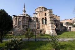 Igreja de Chora, Istambul, Turquia imagem de stock royalty free