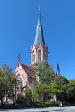 A igreja de Christ em Karlsruhe imagem de stock royalty free
