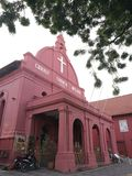 Igreja de Christ em Melaka foto de stock royalty free