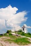Igreja de Christian Orthodox dentro, Moldova imagem de stock