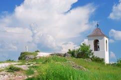 Igreja de Christian Orthodox em Moldova fotografia de stock royalty free