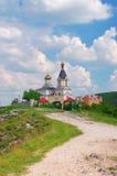 Igreja de Christian Orthodox, Moldova fotos de stock royalty free