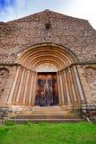 Igreja de Cisnadioara em Romania Fotografia de Stock Royalty Free
