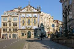 Igreja de Congregados. Porto. Portugal imagem de stock royalty free