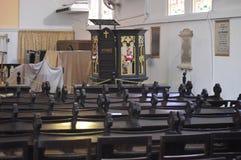 Igreja de Cristo em Stadthuys Malacca foto de stock