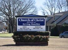 Igreja de Cristo, Memphis, Tennessee fotografia de stock royalty free
