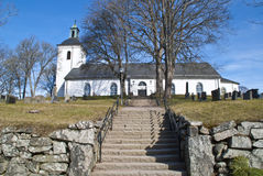 Igreja de Dals-Ed (revestimento do leste) Imagem de Stock Royalty Free