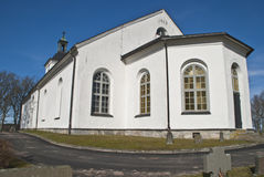 Igreja de Dals-Ed (revestimento sul) Foto de Stock Royalty Free