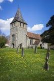 Igreja de Detling, Kent, Reino Unido fotos de stock
