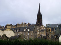 Igreja de Edimburgo fotografia de stock