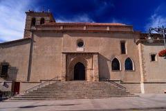 Igreja de El Salvador em Bejar, Salamanca, Espanha fotografia de stock