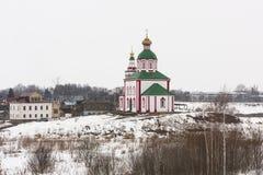 A igreja de Elijah do profeta Imagens de Stock Royalty Free