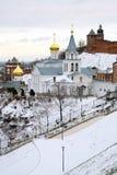 Igreja de Elijah o profeta e o Kremlin Imagens de Stock