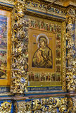Igreja de Elijah o profeta, Yaroslavl Fotos de Stock Royalty Free
