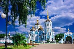 Igreja de encontro ao céu Imagem de Stock Royalty Free