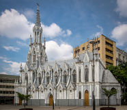 Igreja de Ermita do La - Cali, Colômbia Imagem de Stock Royalty Free