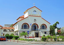 Igreja de Evangelismos em Kos Grécia Fotos de Stock Royalty Free