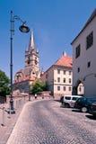 Igreja de Evanghelical em Sibiu Fotos de Stock Royalty Free