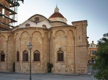 Igreja de Faneromeni no quadrado de Faneromeni em Nicosia chipre Imagem de Stock