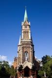 Igreja de Ferencvaros em Budapest Fotografia de Stock