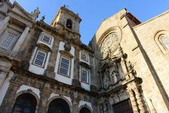 Igreja de São Francisco, Porto, Portugal Royalty Free Stock Photography