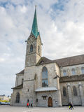 Igreja de Fraumunster em Zurique Fotografia de Stock