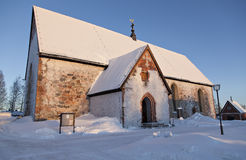 Igreja de Gammelstads Fotos de Stock