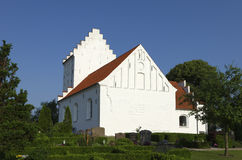 Igreja de Gerlev Imagens de Stock
