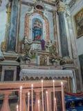 Igreja de Gesu em agradável, França Fotos de Stock Royalty Free