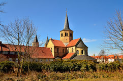 Igreja de Godehardi, Hildesheim Fotografia de Stock Royalty Free